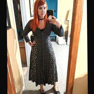 Vintage Esprit maxi dress size 8 large